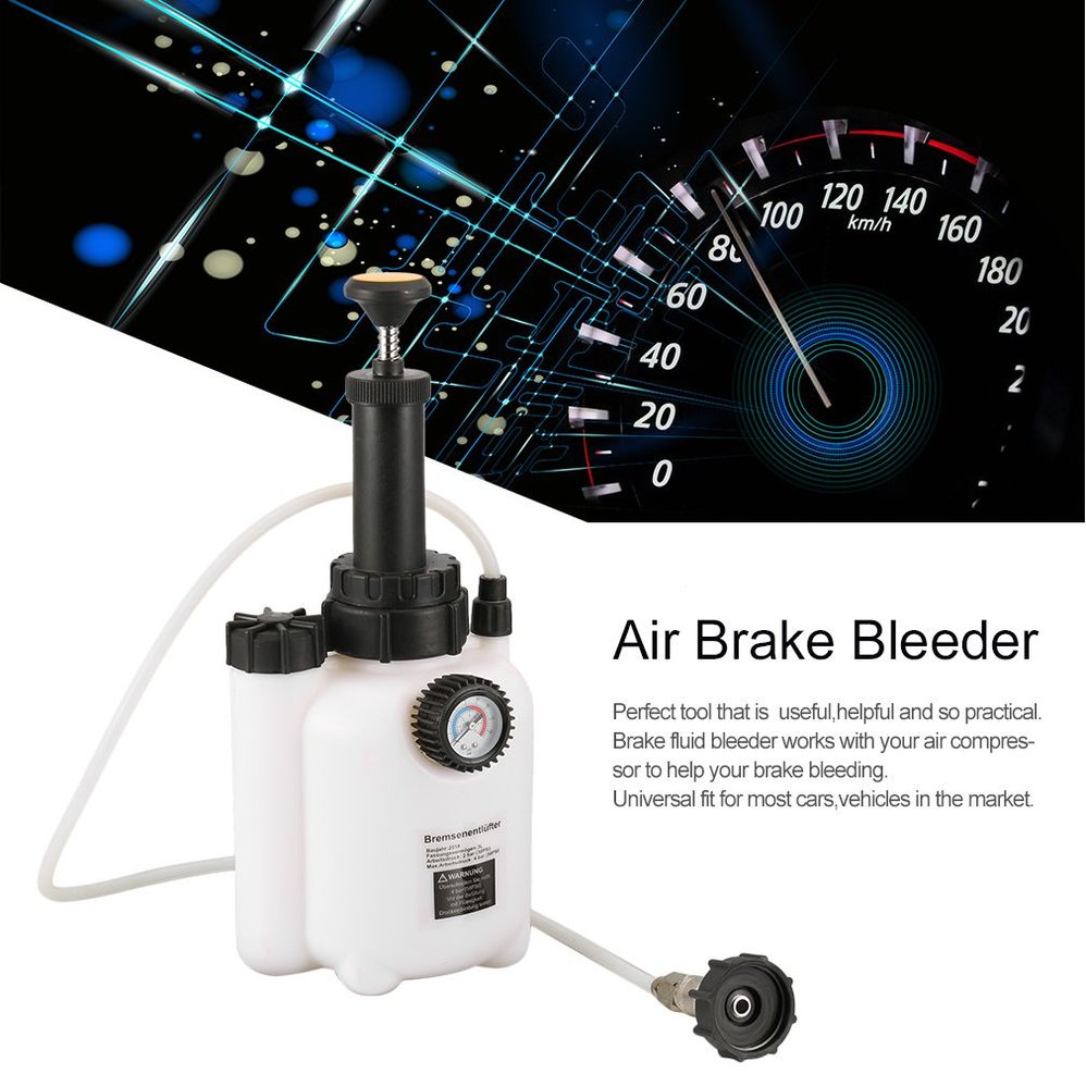 Single Pot Air Brake Bleeder Fluid Change Kit Car Auto Air Powered Pneumatic Brake Vacuum Tool Vehicles Equipment Extremely Efficient In Preserving Heat Back To Search Resultshome