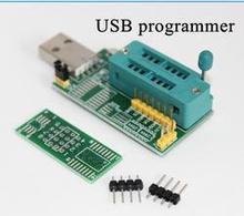 Бесплатная доставка CH341A 24 25 серии EEPROM Flash BIOS DVD USB программатор dvd-программист маршрутизатор девять щетка машина USB программатор