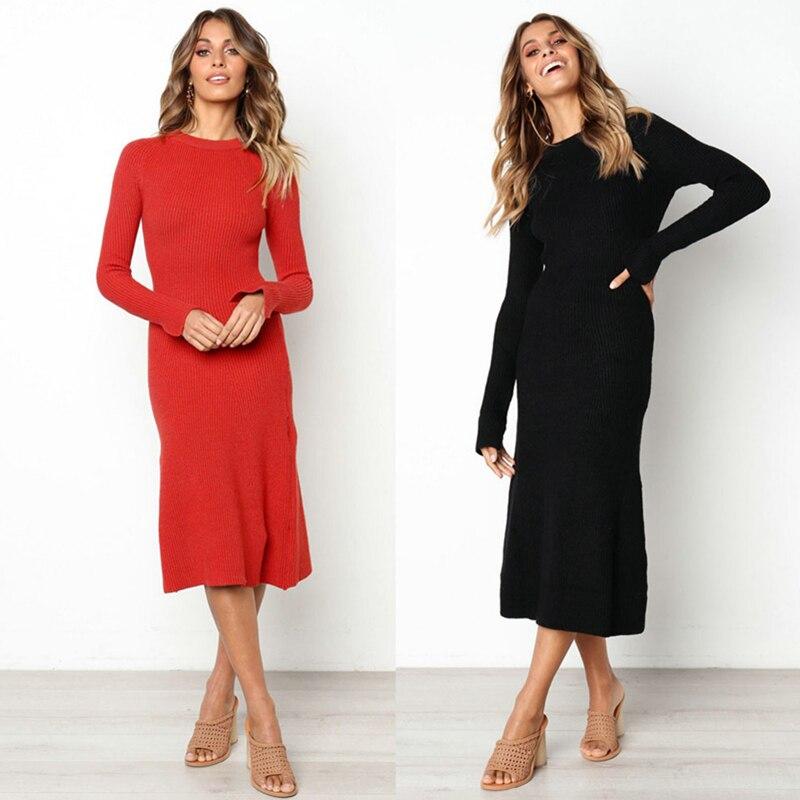 Bodycon dress long sleeve maxi winter dresses sydney live