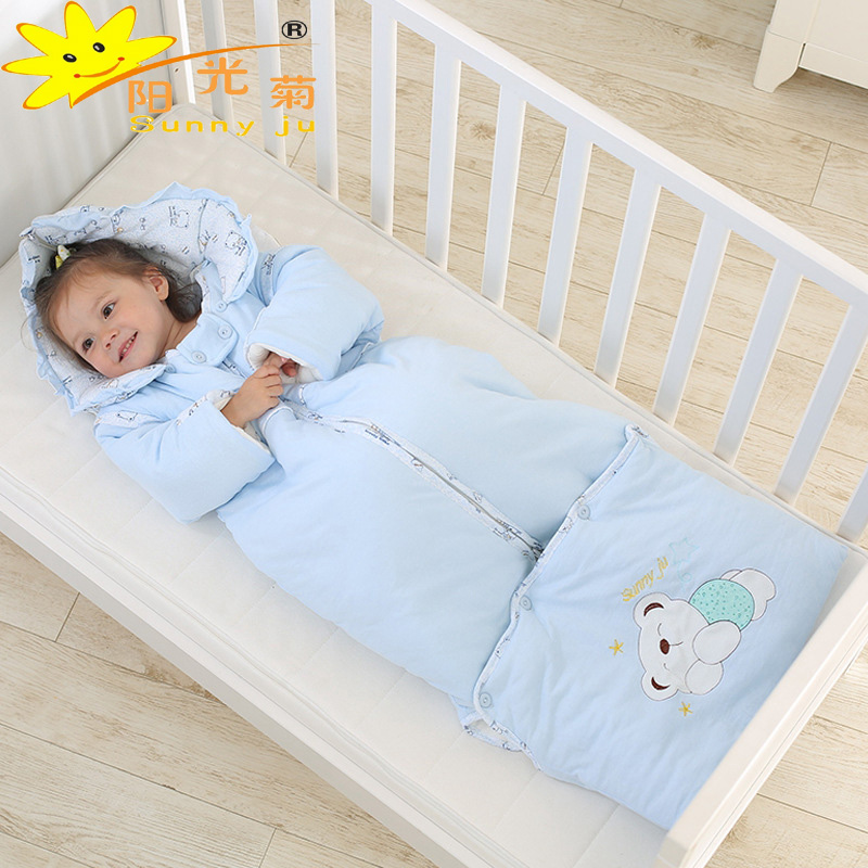 winter warm cotton baby sleeping bag removable newborn. Black Bedroom Furniture Sets. Home Design Ideas