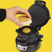 Household Automatic Hamburger Machine Health Bread Machine Hamburger Machine Breakfast Machine