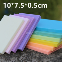 DIY Professional Engraved Rubber Stamped Rubber Bricks 10 7 5 0 5cm Candy Colored Rubber Stamps