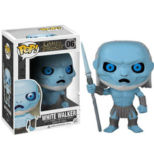 Funko POP Anime Song Of Ice And Fire Game Thrones Jon Snow Collectible Model Boy Toys Movie Action Figure Toy