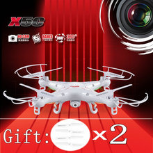 Have Gift 100% Oringinal Syma X5C RC Quadcopter 2.4G 4CH 6axis gyro Drone Quadcopter Remote Control UFO With HD Camera RTF