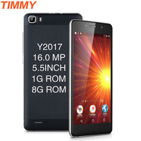 Y2017 Mobile Phone 16MP Camera Telephone 5 5 Inch Screen MTK6580 Quad Core Android 5 1