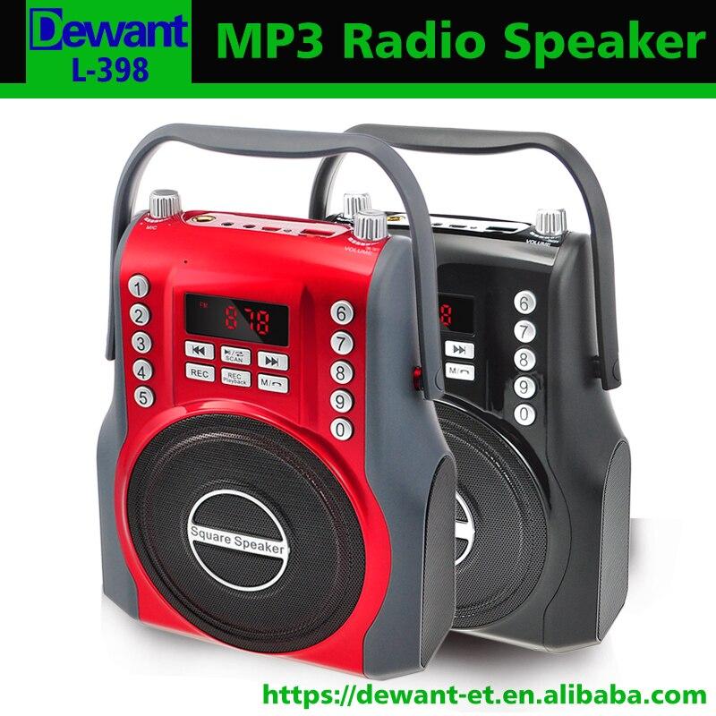Zielsetzung Freies Verschiffen L-398 Tragbare Mini Bluetooths Drahtlose Lautsprecher Tragbare Fm Radio Mit Mp3 Musik Audio-player Und Voice Recorder Rabatte Verkauf Radio Unterhaltungselektronik