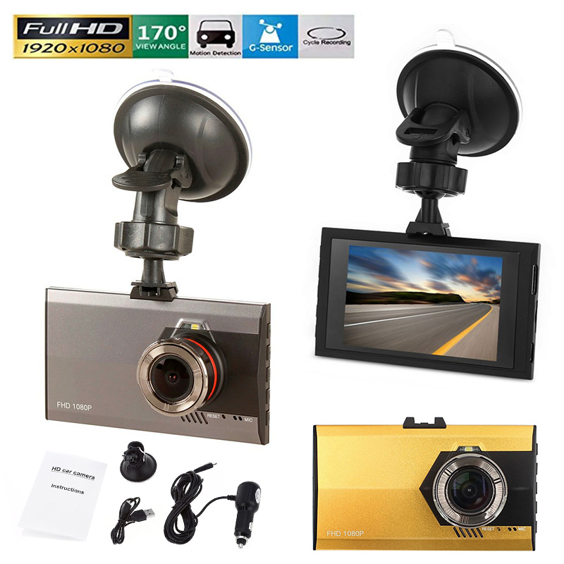 Ultra-Thin A8 Car DVR Recorder 1080P Full HD Car DV 170 Degree Wide Angle Dsah cam G-Sensor IR Night Vision Loop Cycle Recording blackview bl500 2 7 tft full hd 1080p 5 0mp cmos car dvr w gps ir 178 angle lens g sensor