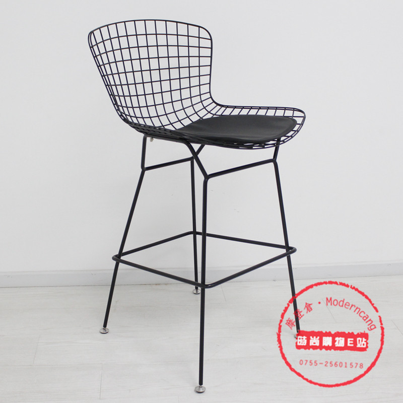 Online Shop Wire Bar Stool Chairs Tall Iron Mesh Metal Chair Stylish  Simplicity Creative Bar Stool Chair Bar Chairs | Aliexpress Mobile