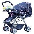 Carrinho de bebê carrinho de bebê carrinho leve de quatro vias dobrável