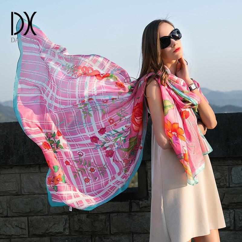 Scarf Woman Muslim Hijab Silk Chiffon Female Summer Sunscreen Scarf Spring And Autumn Women Fashion Scarves And Shawls Brand