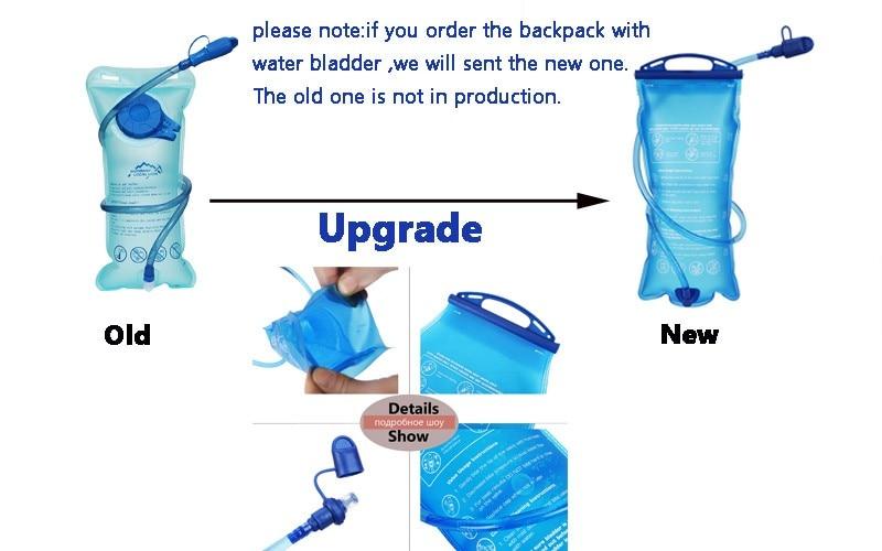 3pcs clip de tuyau voyage sac à dos eau vessie potable tube titulaire