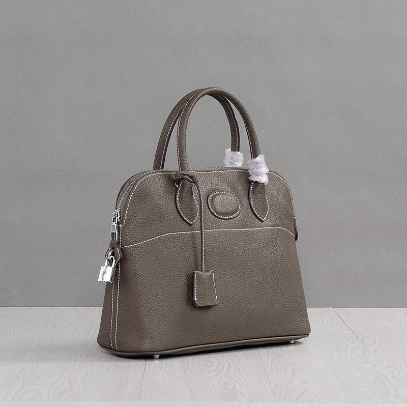Luxury Hign Quality Genuine Leather Women Shell Messenger Bags Brand Designer Female Shoulder Bag Ladies Handbags