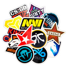 30Pcs CS GO game Cute Cartoon Sticker Dream Anime Kids Toy Stickers for DIY Laptop Phone Luggage Skateboard Bedroom Stickers a0023 superman logo dream anime kids recognition toy stickers for diy car laptop skateboard pad bicycle ps4 phone decal trunk