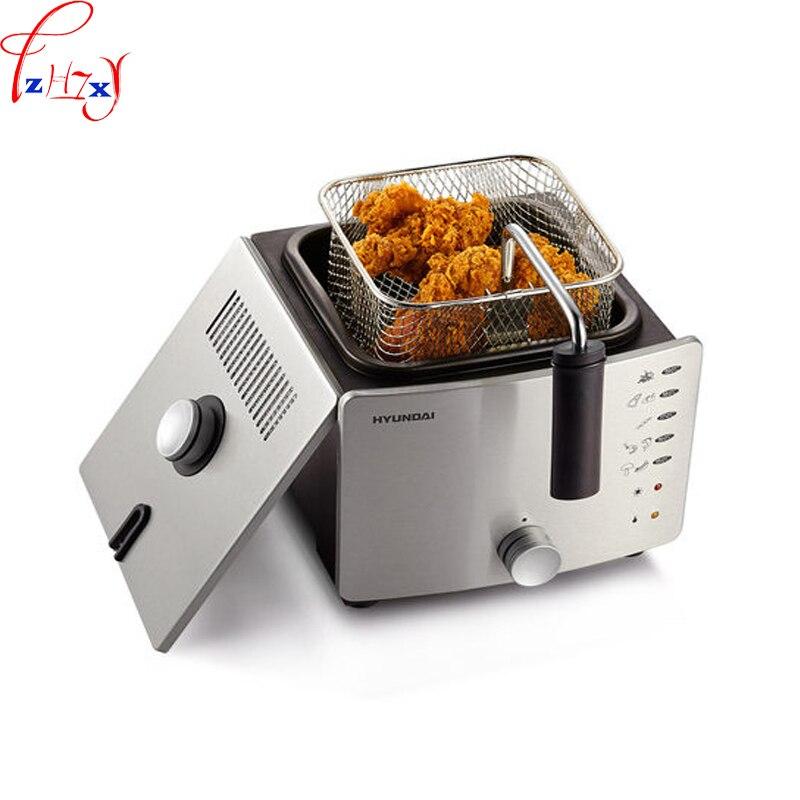 Домашнего использования Многоцелевой масло-Бесплатная машины жарки df-27 Малый постоянная температура Single-бак жарки печи 220 В 1 шт.