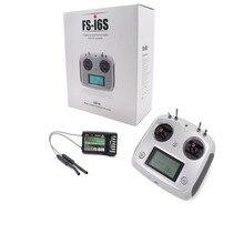 F17905 Flysky FS i6S 2.4G 10CH AFHDS Touchscreen Zender + FS iA6B 6CH Ontvanger Throttle Modus DIY RC Multicopter