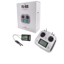 F17905 flysky FS i6S 2.4g 10ch afhds transmissor de tela toque + FS iA6B 6ch receptor modo acelerador diy rc multicopter
