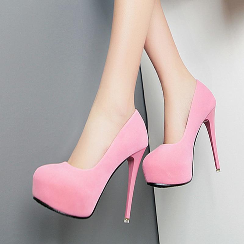 Online Get Cheap Suede Pink Pumps -Aliexpress.com | Alibaba Group