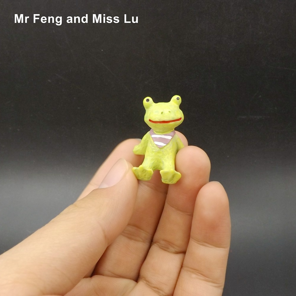 Small Frog Model Toy Figure Collection Gift Kid