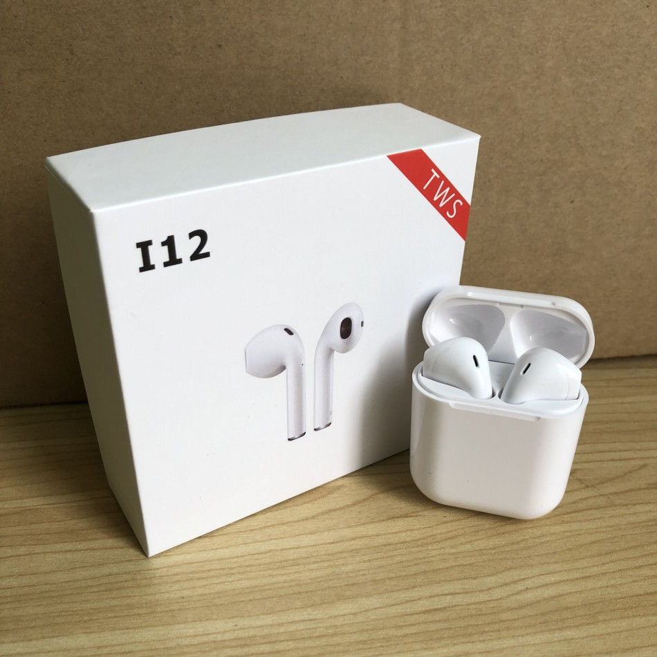 i12 TWS Wireless Touch control Bluetooth Earbuds H