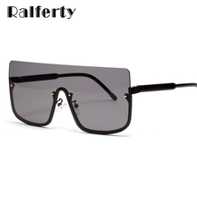 Ralferty Oversized Sunglasses Women Men 2019 New Ultra Big Sun Glasses Female Ma