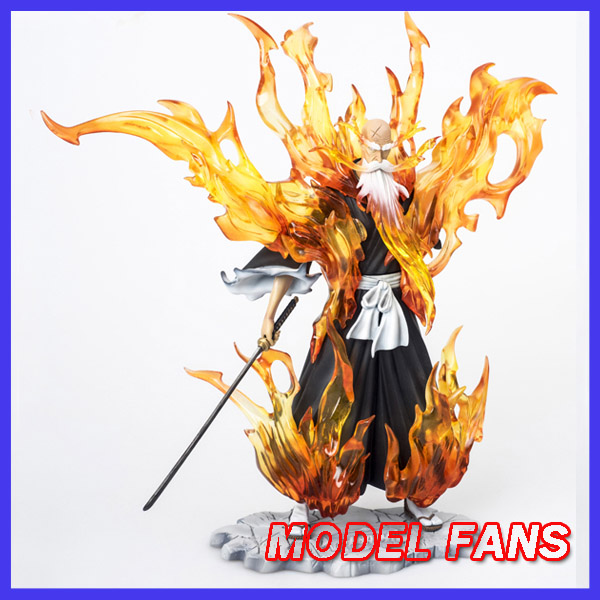 MODEL FANS IN-STOCK AFORCE 22cm BLEACH Yamamoto Genryuusai Shigekuni bankai mode GK resin made for Collection model fans in stock the same paragraph tsume 50cm fist of the north star lao gk resin made for collection