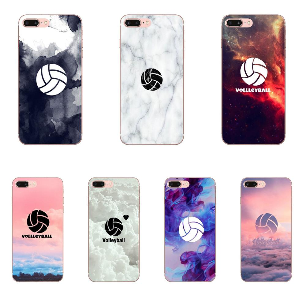 For Xiaomi Mi3 Mi4 Mi4C Mi4i Mi5 Mi 5S 5X 6 6X A1 Max Mix 2 Note 3 4 Soft New Style Unique I Love Volleyball Sport Hybrid