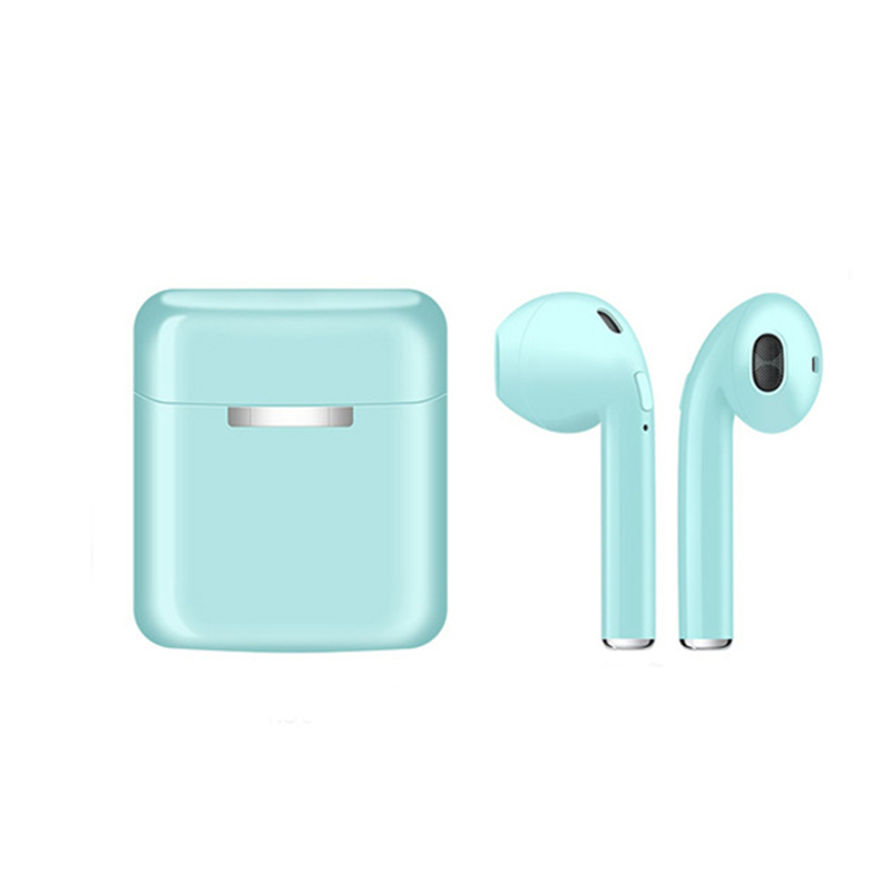 NEW i20 TWS Wireless Bluetooth 5.0 Earphones Stereo Earbud Headset Gaming Sport Mini Headphone With Charging Box For Smart Phone-in Bluetooth Earphones & Headphones from Consumer Electronics