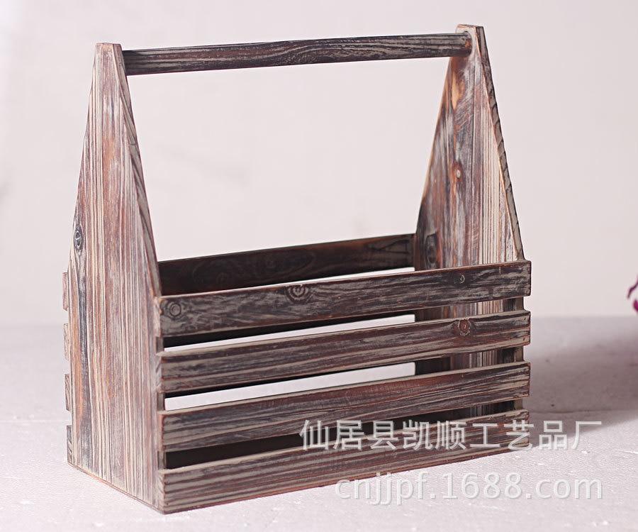 Compra cesta de madera online al por mayor de china - Cestos de madera ...