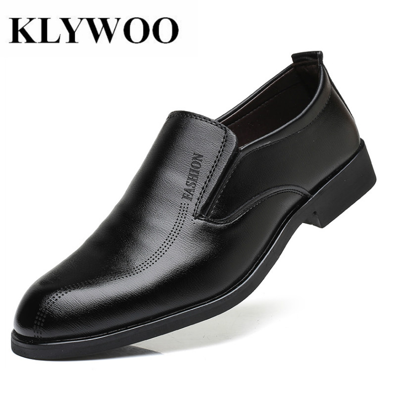 KLYWOO 2018 Classic Men Dress Shoes Leather Wingtip Carved Italian Men Formal Shoes Oxfords for Men Leather shoes Zapatos Hombre hot sale luxury brand men classic oxfords italian mens leather dress shoes new men formal shoes black white patch flowers 39 46