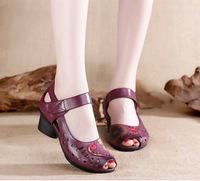 Summer New Women S Shoes Women S Sandals National Wind SUB3178