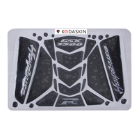 KODASKIN Motorcycle 3D Carbon Tank Pad Sticker Decal Emblem GRIPPER STOMP GRIPS EASY For GSX1300R Hayuabusa