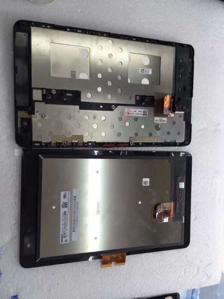 version 5468W lcd and touch with frame For DELL Venue 8 Pro Display With Touch Screen Digitizer Assembly  Free Shipping for sony xperia m c1904 c1905 lcd display with touch screen digitizer frame assembly by free shipping