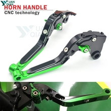 Motorcycle Accessories CNC Folding Extendable Brake Clutch Levers For Kawasaki Z 800 Z800 z800 z Handle