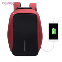 USB Charge Anti Theft Women Backpack Men 15 Inch Laptop Backpacks Fashion Travel School Bags Female