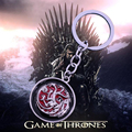 2016 Best Movie Key Ring New Design The Songs of Ice And Fire Keychain Game of Throne Targaryen Dragon Key Chain Chaveiro YSK035
