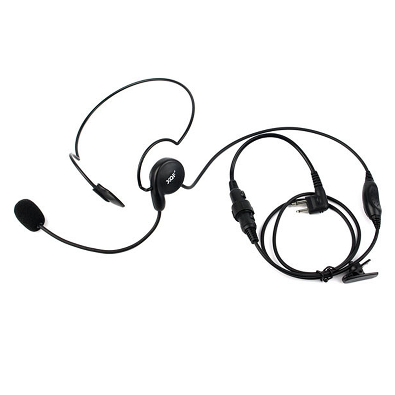 Advanced Unilateral Headphone Mic Neckband Earpiece Cycling Field Tactical Headset For Motorola Radio GP3688 GP300 GP68 EP450