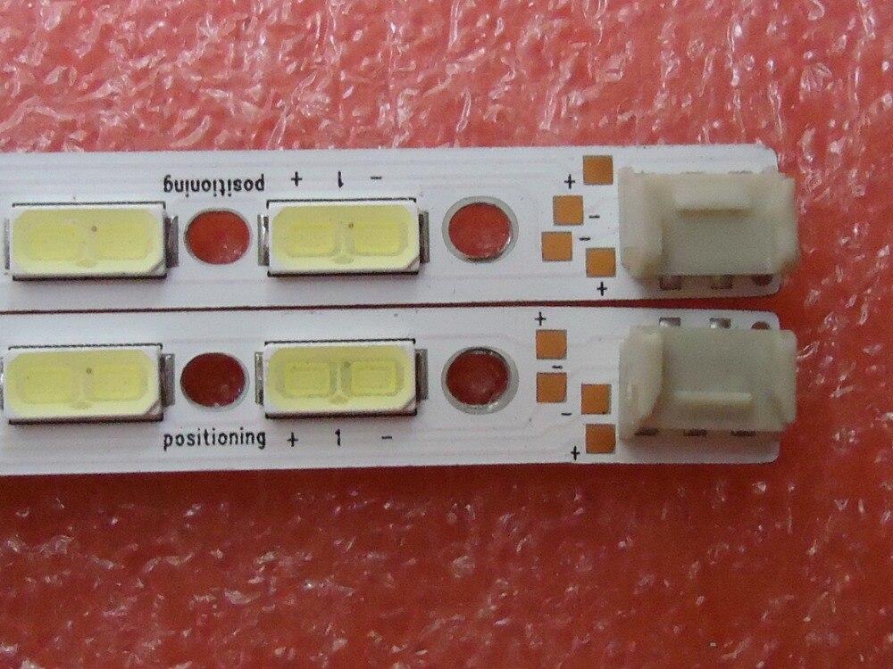 New kit 2 PCS set 68LED 676mm LED backlight strip GK0361 7030PKG 68EA R L TYRE