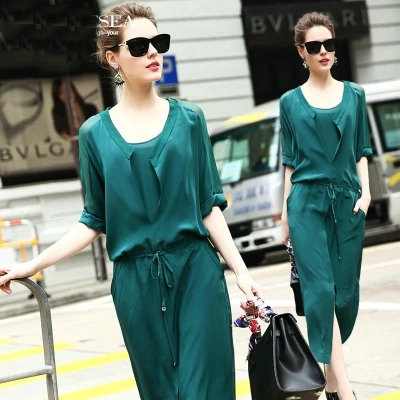 Free shipping 2015 new spring fashionable dress faux two piece one-piece dress new OL sh ...