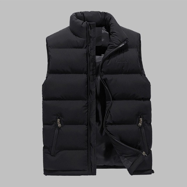 3 Pcs Sports Set Men Hooded Thicken Down Coat Vest 3