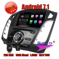 TOPNAVI 2G 16GB 1024 600 Android 7 1 Car PC DVD Player For Ford Focus 2015