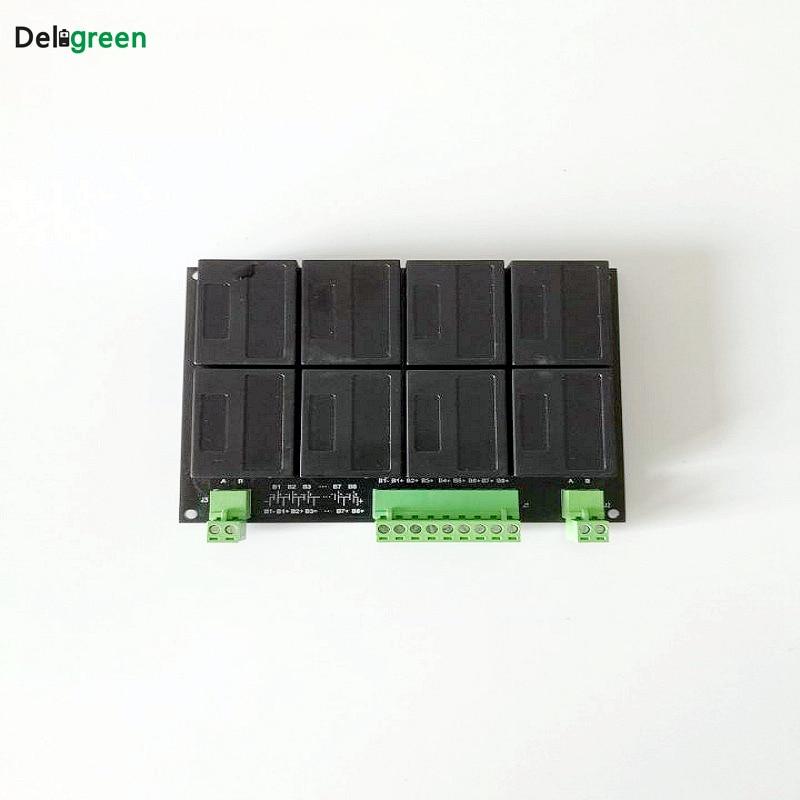10 Pcs 8S/24V QNBBM Lithium Battery Equalizer Balancer BMS For  LIFEPO4,LTO NCM LMO 18650 DIY Pack