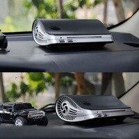 Car Air Purifier Auto Minus Ion Air Purification Apparatus Portable Car Air Cleaner Ionic UV HEPA