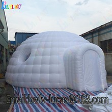 Large inflatable tent dome with window led inflatable dome tent party advertising tent