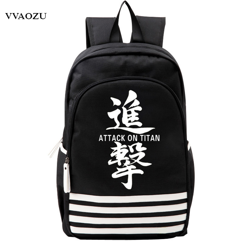 Shingeki no Kyojin Scouting Legion Oxford Schoolbag Attack on Titan Japan Anime Cosplay Backpack Shoulders Bag for Students Gift-in Backpacks from Luggage & Bags    2