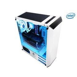 Kotin s13 gaming desktop computador pc i7 8700 k gtx 1070 8 gb ram placa de vídeo desktop computador 120 refrigerador de água livre 5 fãs brancos