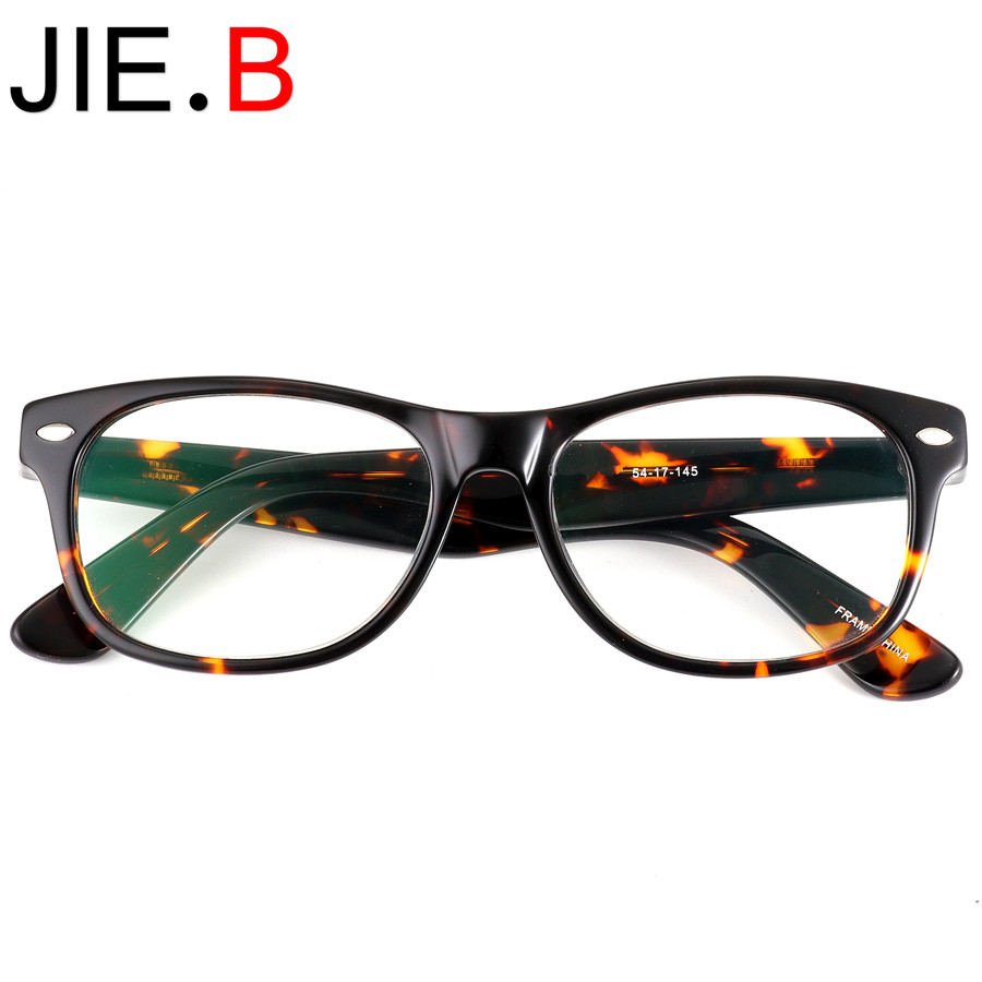 New acetate frame glasses ladies mens optical myopia retro