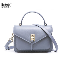 лучшая цена BRIGGS brand genuine leather small handbags for women fashion messenger bag women high quality shoulder bag female casual totes