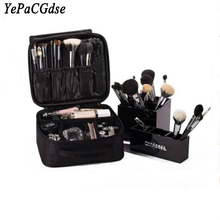 купить Travel portable cosmetics multi-function storage bag waterproof Oxford makeup beauty nail storage box container дешево