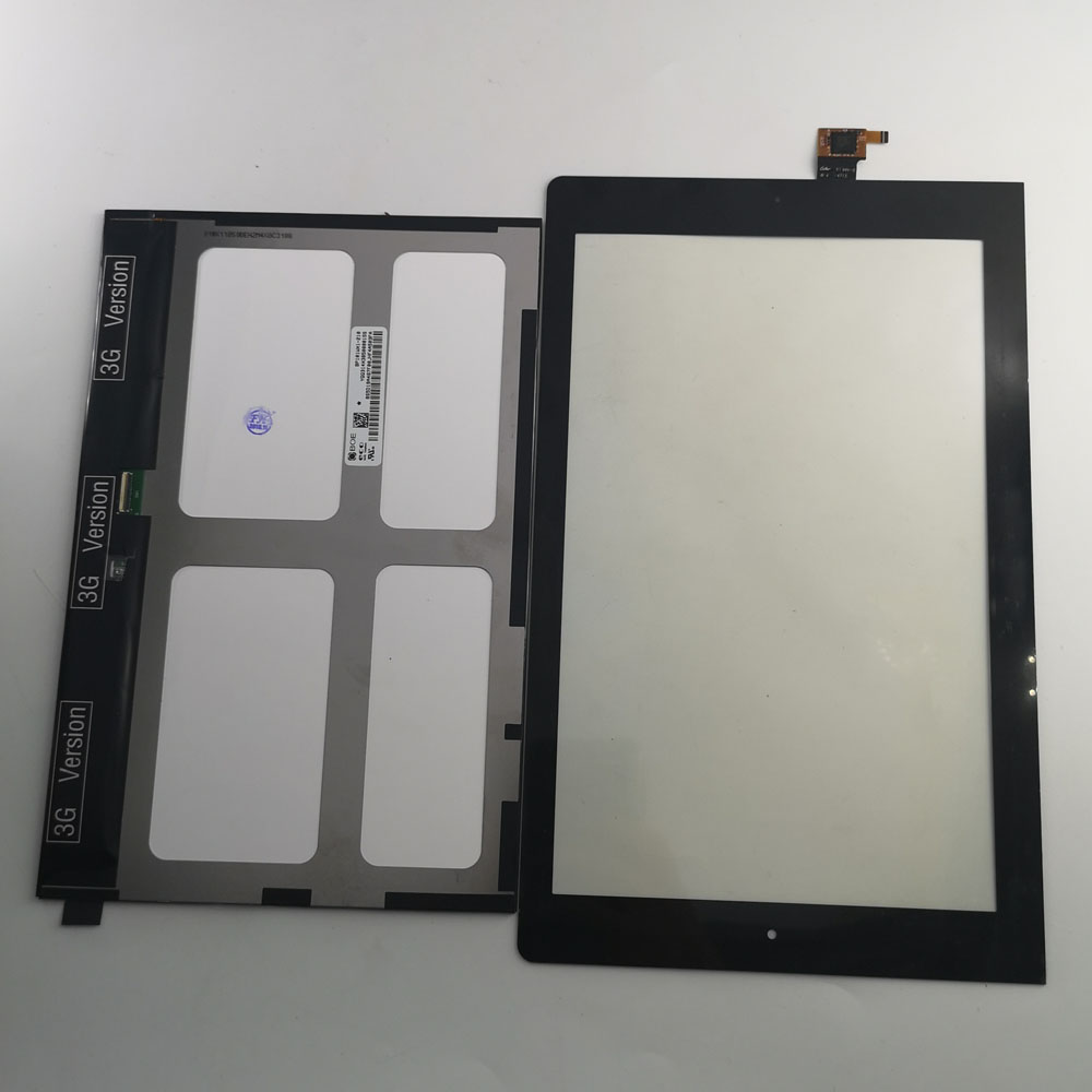 "10.1/"" LCD and touch panel frame For Lenovo YOGA TABLET 10 B8000 B8000-F 60046"
