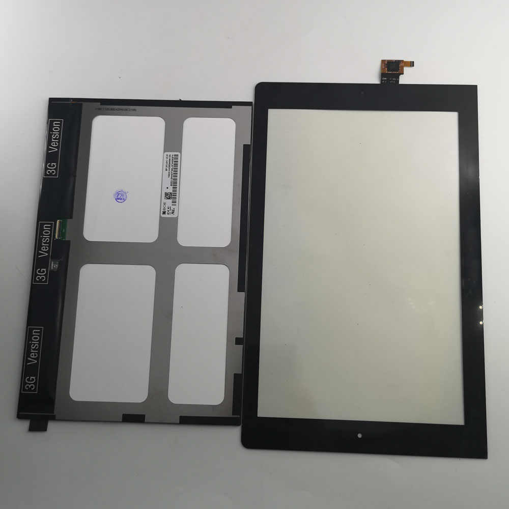 10.1 INÇ Lenovo Yoga 10 Için B8000 B8000-H Model 60047 60046 Tablet PC lcd ekran ve dokunmatik ekran digitizer